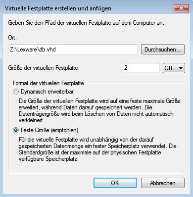 vDisk erstellen2