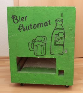 DIY Bierautomat vorn