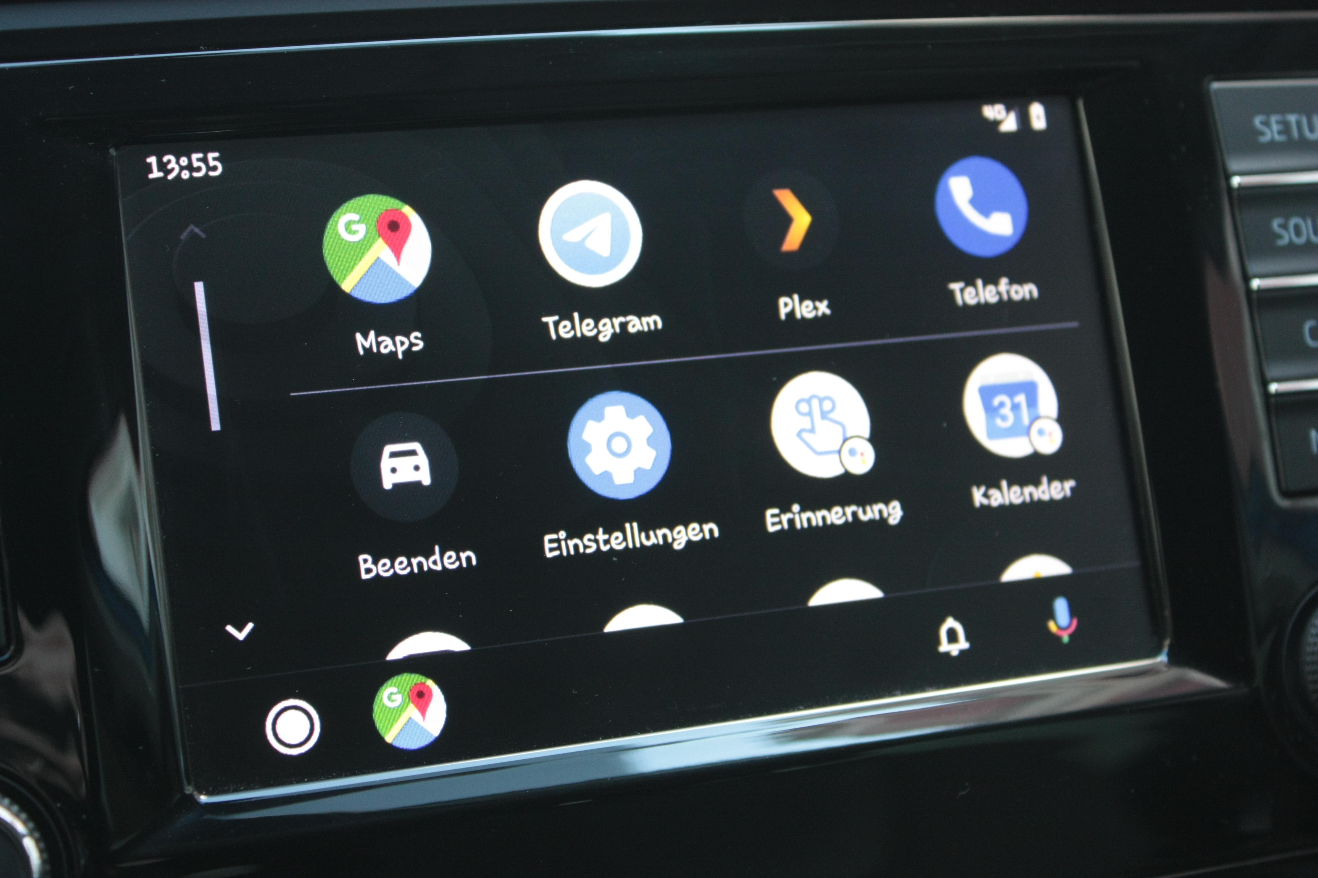 Android Auto Neues UI